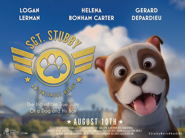 Sgt. Stubby movie