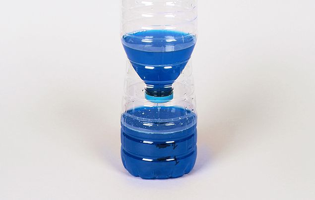 How to make a water clock