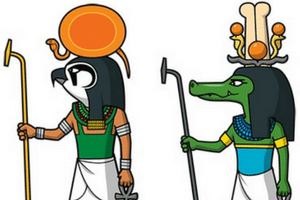 Egyptian Clipart #1047417 - Illustration by toonaday