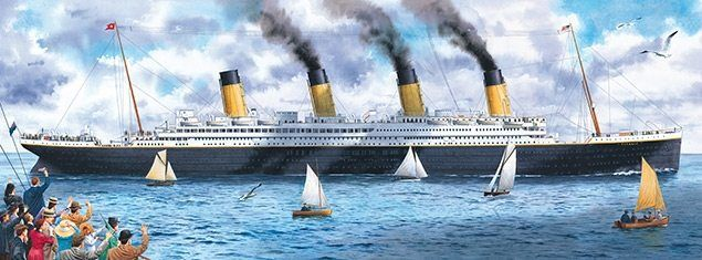 Twenty Titanic Facts - set sail