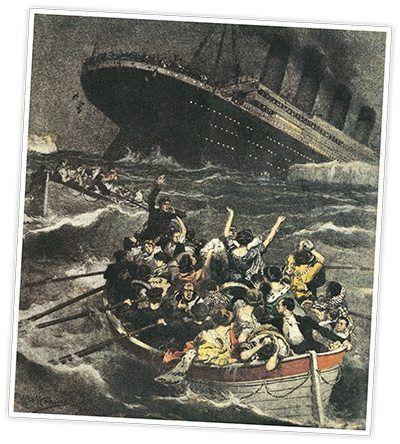 Titanic facts - ship sinking