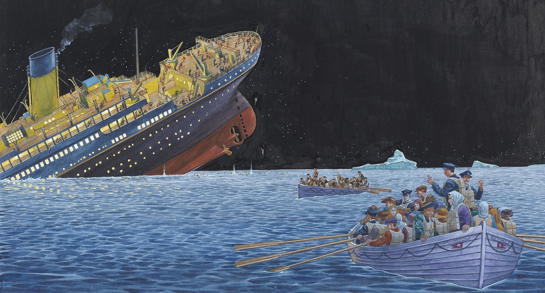 Twenty Titanic Facts - would you have survived?