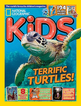 National Geographic Kids magazine: chimp cover