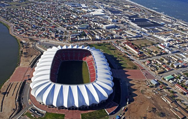 South Africa Facts - Nelson Mandela Bay Stadium, in Port Elizabeth