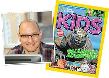 Tim Herbert, Editor of National Geographic Kids magazine