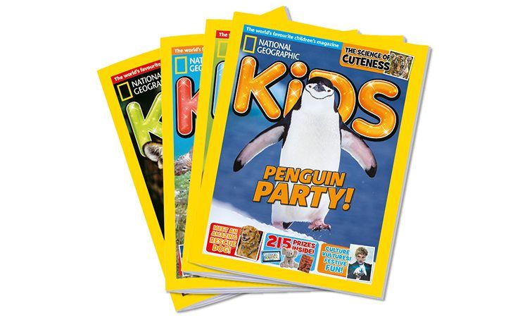 National Geographic Kids Christmas gift subscriptions ...