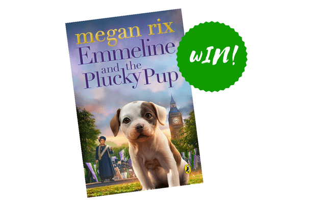 Emmeline and the Plucky Pup book