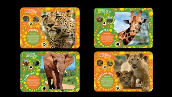 NAT GEO PLACEMATS