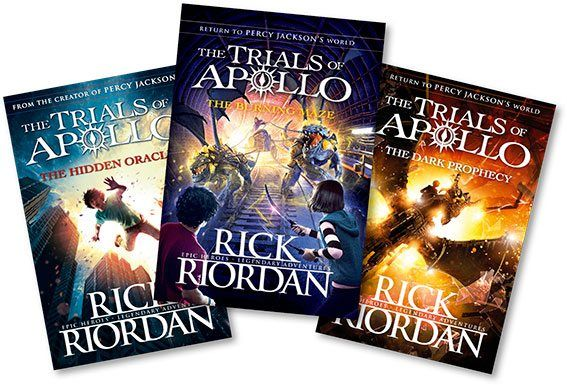 The Trials of Apollo book series