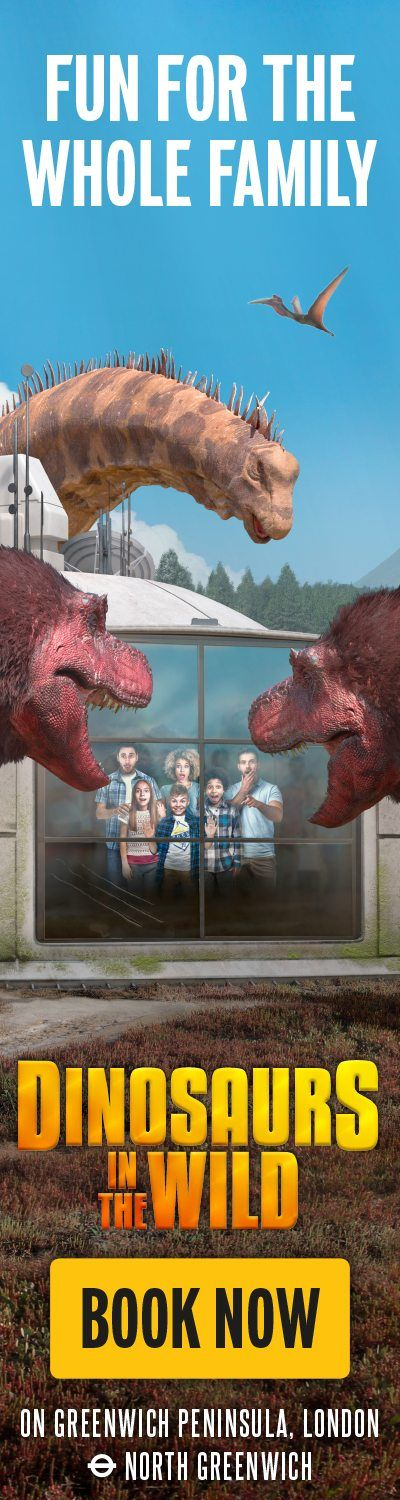 Dinosaurs in the Wild – HPTO left hand side
