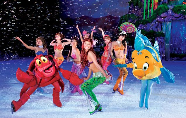 Little mermaid disney on ice