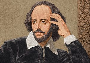 was shakespeare a real person