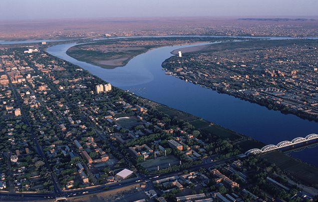 Nile River Facts - Khartoum