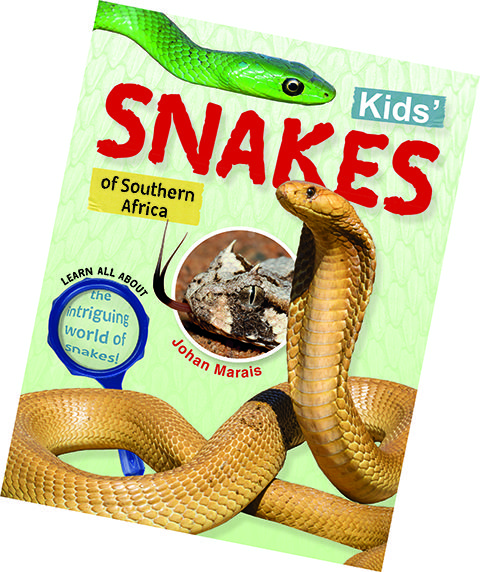 Kids' Snakes of Southern Africa - book cover