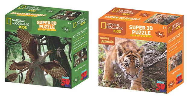 National Geographic Toys - Puzzles