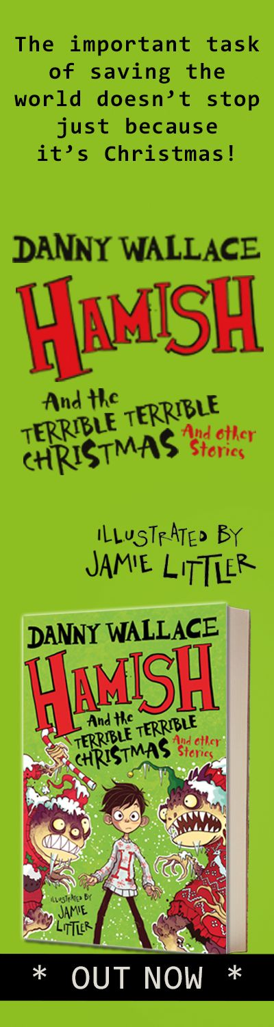 Hamish and the terrible terrible Christmas HPTO right hand side panel