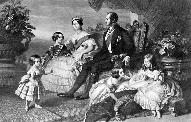 Queen Victoria Children - Family
