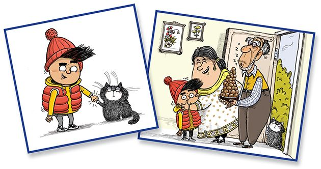 Little Badman Illustrations