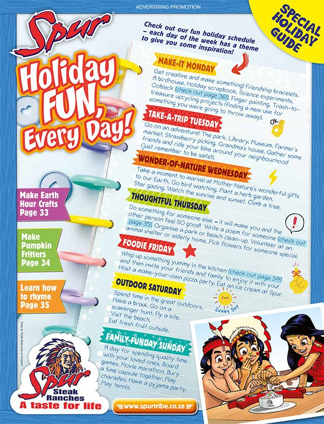 Spur Easter Holiday Guide