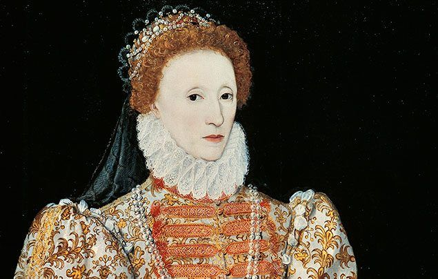 International Women's Day: painting of Queen Elizabeth I