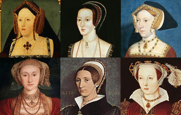 International Women's Day: paintings of Henry VIII wives