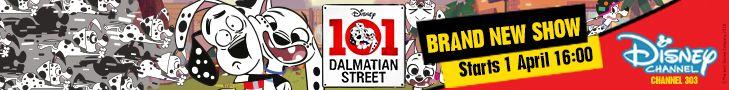 Disney Dalmation Street