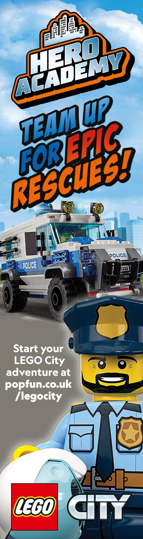 LEGO City Police HPTO right hand panel