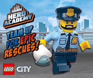 Lego City Fire Police HPTO April MPU