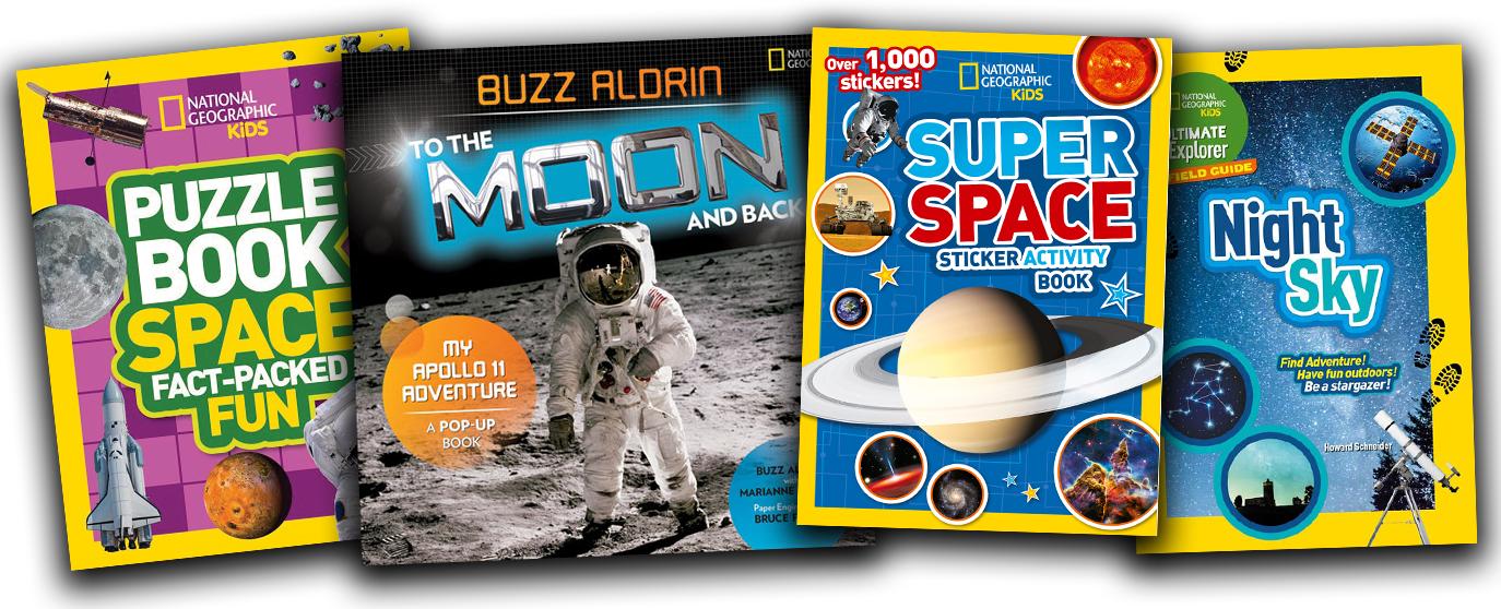 Moon Landing Anniversary book bundle | National Geographic Kids