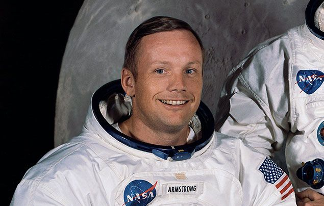 Neil Armstrong facts: Neil Armstrong photographed for NASA