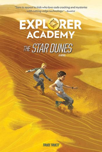 Explorer Academy The Star Dunes book jacket