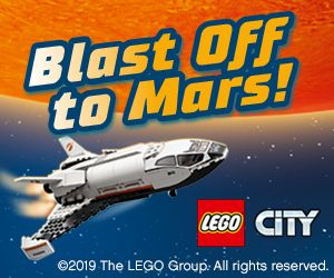 LEGO CITY SPACE OCT 2019 HPTO MPU
