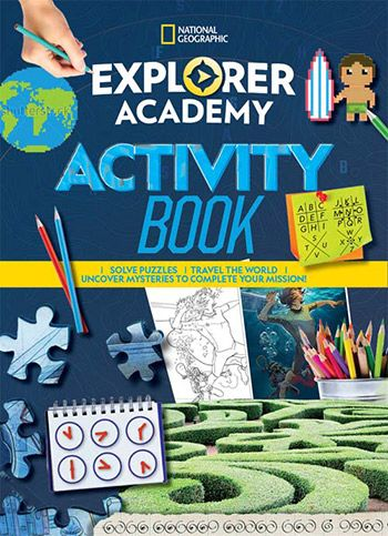 National Geographic Explorer Academy Activity Adventure book jacket