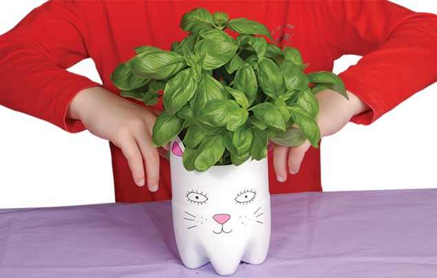 How to make a cat planter step 5