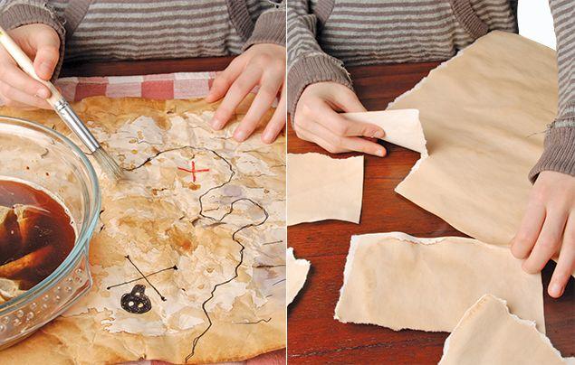 How to make a treasure map