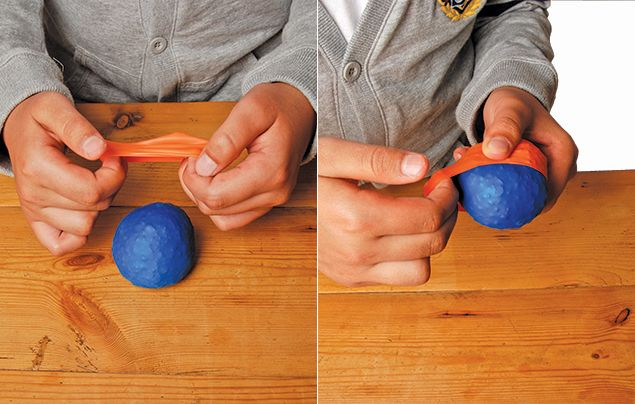 How to make juggling balls for kids