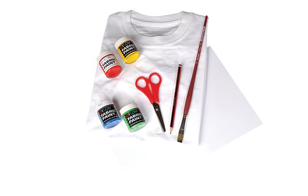 Make an eco t-shirt what you'll need