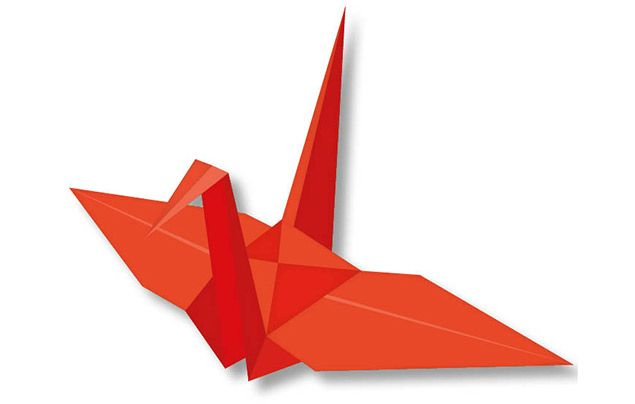 Origami for kids: crane
