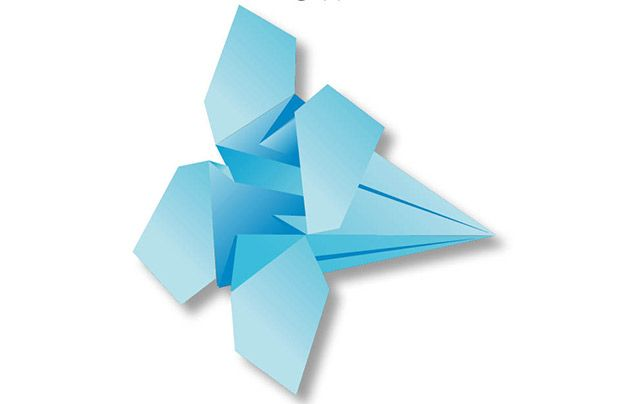 Origami for kids: flower