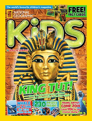 National Geographic Kids magazine: Tutankhamun cover