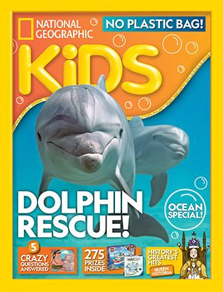 National Geographic Kids magazine: dolphin cover