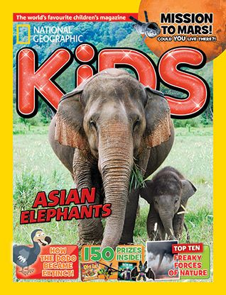National Geographic Kids magazine: elephant cover