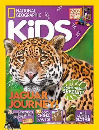 National Geographic Kids magazine: jaguar cover