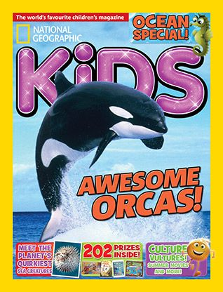 National Geographic Kids magazine: orca cover