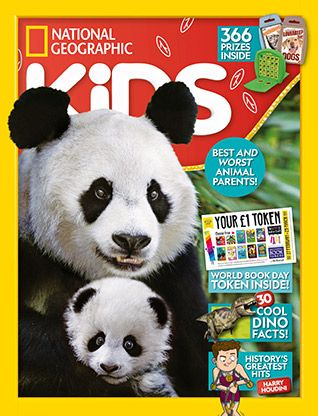 National Geographic Kids magazine: panda cover