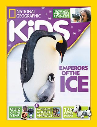 National Geographic Kids magazine: penugin cover