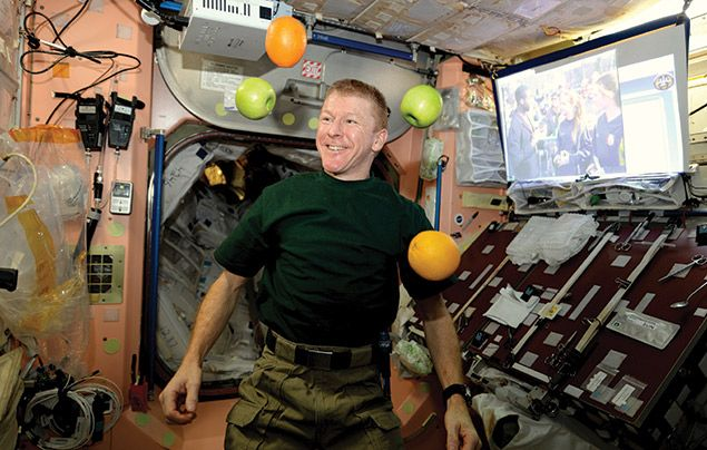 Tim Peake interview