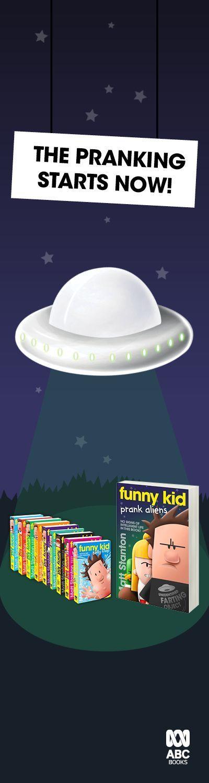 Harper Collins Funny Kid Alien LHP banner