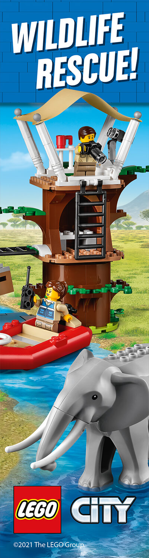 LEGO CITY WILDLIFE HPTO LH BANNER
