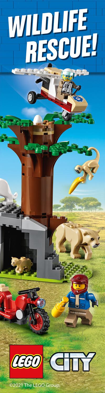 LEGO CITY WILDLIFE HPTO RH BANNER